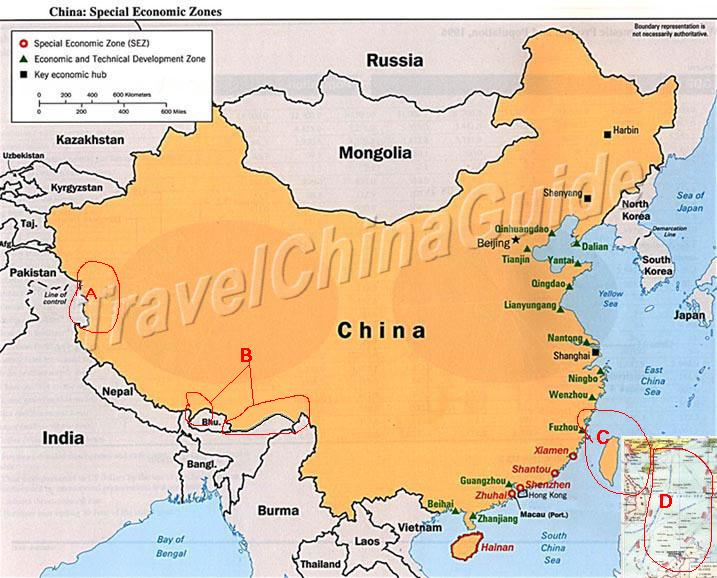 Nansha spratly islands of chinanews june 2003 map of china correct the wrong maps of china on world web sites gumiabroncs Images